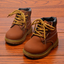 Load image into Gallery viewer, Spring Autumn Winter Children Sneakers Martin Boots Kids Shoes Boys Girls Snow Boots - shopbabyitems