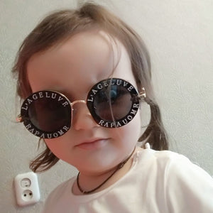 Steampunk Metal Bee Kids Sunglasses Boys Girls - shopbabyitems
