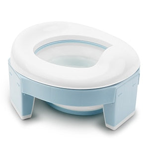 Baby Pot Portable Silicone Baby Potty  Training Seat 3 in 1 Travel Toilet Seat - shopbabyitems