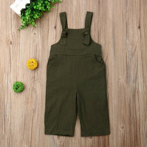 Causal Sleeveless Dungaree Jumpsuit Playsuit Overalls Outfits - shopbabyitems