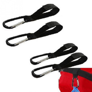 Universal Stroller Hooks Wheelchair Stroller Pram Carriage Bag Hanger Hook Baby Strollers Shopping Bag Clip Stroller Accessories - shopbabyitems