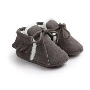 Winter Baby High Top Shoes Infant Toddler Newborn Cartoon Shoes Girls Boys First Walkers - shopbabyitems