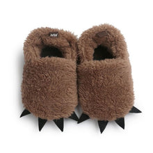 Load image into Gallery viewer, Winter Warm Baby Boots Monster Claw Baby Moccasins Shoes Newborn Infant Indoor Shoes - shopbabyitems