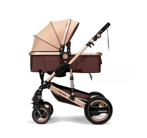 Wisesonle baby stroller 2 in 1 stroller lying or dampening folding light weight two-sided child four seasons Russia - shopbabyitems