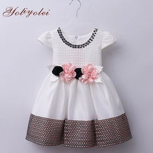 Load image into Gallery viewer, Newborn Baby Kids Girl Princess Dress Holidays Party Wedding Casual Dresses Baby Children Girl Clothes with Hairband - shopbabyitems