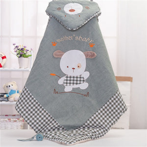 baby receiving blankets newborn organic cotton swaddle blanket infant swaddle wrap kids - shopbabyitems