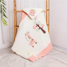 Load image into Gallery viewer, baby receiving blankets newborn organic cotton swaddle blanket infant swaddle wrap kids - shopbabyitems