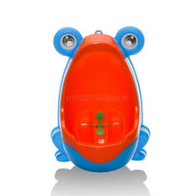 Load image into Gallery viewer, bebe Frog Children Potty Toilet Training Kids Urinal for Boys Pee Trainer Bathroom #H055# - shopbabyitems