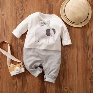 Brand New Cute Toddler Infant Baby Girls Rompers Bear Penguin Pattern - shopbabyitems
