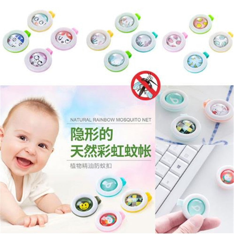 child mosquito repellent buttons bracelet stickers baby pregnant anti mosquito pest control - shopbabyitems