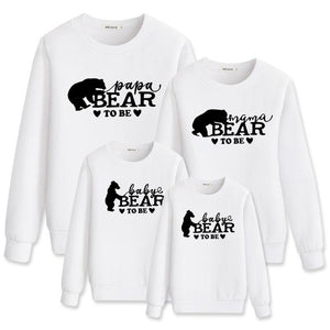 Matching outfits look new year kids hoodies clothing mommy and me Clothes - shopbabyitems