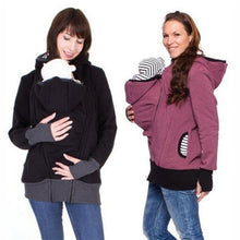 Load image into Gallery viewer, winter women hoddies carry baby infant sweatshirt zipper coat - shopbabyitems