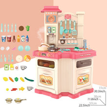 Load image into Gallery viewer, 40PCS Kids Kitchen Toys Set Children Cooking Toy Kitchen Pretend Play - shopbabyitems