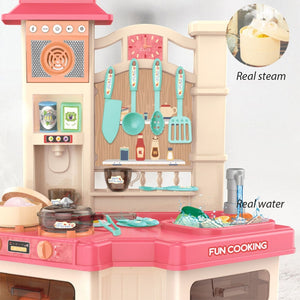 40PCS Kids Kitchen Toys Set Children Cooking Toy Kitchen Pretend Play - shopbabyitems