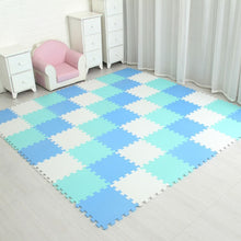 Load image into Gallery viewer, Foam Play Puzzle Mat for kids Interlocking Exercise Tiles Floor Carpet Rug, - shopbabyitems