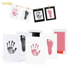 Load image into Gallery viewer, Safe Non-toxic Baby Footprints Handprint No Touch Skin Inkless Ink Pads Kits - shopbabyitems