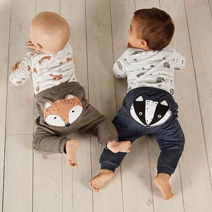 Baby Boy Girl 0-18M Fox print Tops Romper - shopbabyitems