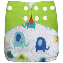 Load image into Gallery viewer, 1PC Reusable Waterproof digital printed baby Cloth Diaper One Size Pocket baby nappies wholesale price fit for 3-15kg - shopbabyitems