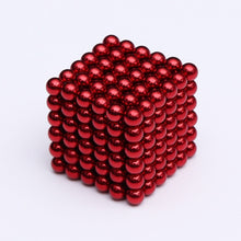 Load image into Gallery viewer, Magnet Metal Balls 5mm 216 pcs/set Magnetic stick Building Blocks Construction Designer Creative Educational Toys Kids - shopbabyitems