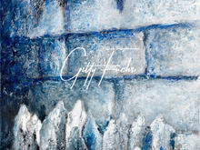 Load image into Gallery viewer, Prayer By The Kotel - Western Wall Painting in Blue