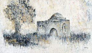 "Abstract Kever Rochel 39"" x 27.5"" /100x70 cm"