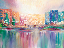 Load image into Gallery viewer, Rainbow City Mixed Media