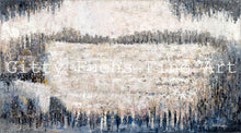 Load image into Gallery viewer, The Kotel in Neutral Grey Abstract Mixed Media