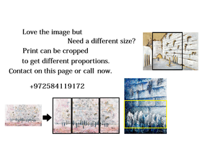 Pink Grey Marble Stones At The Kotel Giclee Print