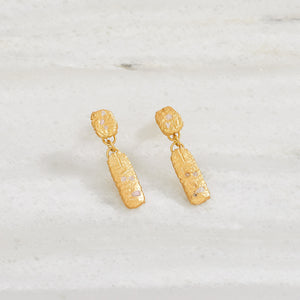 Situn Earrings - Spinel
