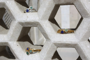 ISHKAR Stack Ring