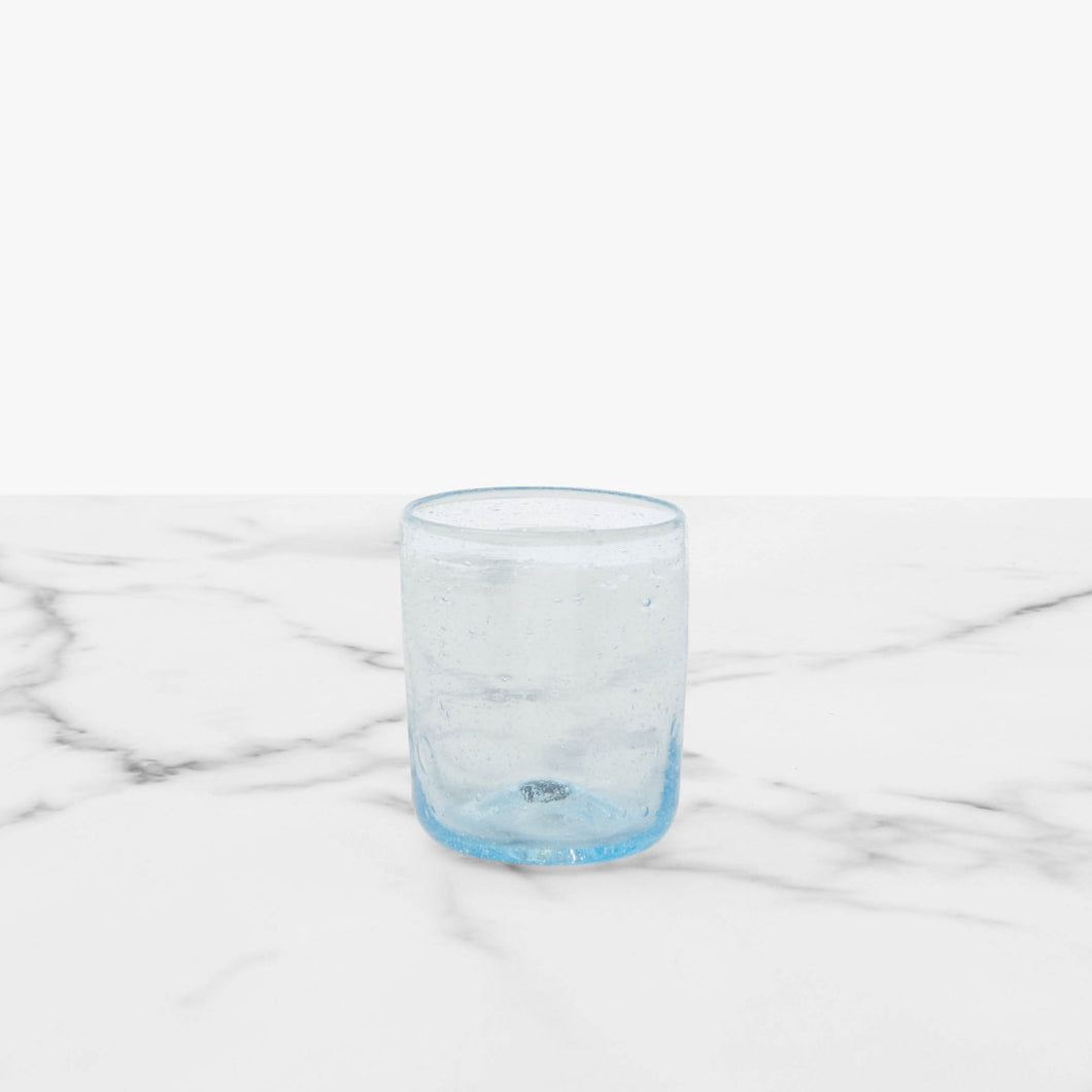 Six Aqua Shot Glasses