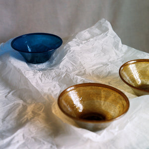 Lapis Glass Bowls