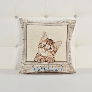 Almofada Decorativa Cat freeshipping - Larbonito