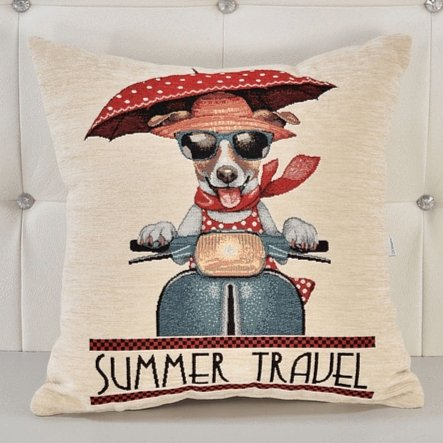 Almofada Decorativa Summer Travel freeshipping - Larbonito