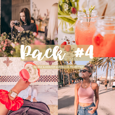 Pack #4 (Bright, Dreamy, Pink Glasses a Dark) - BloggersRE