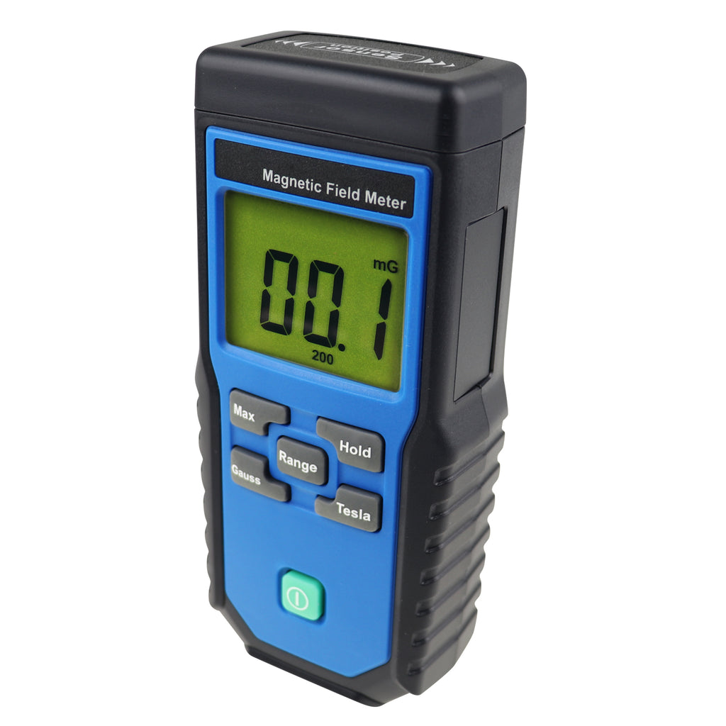TM-191 Digital EMF ELF Meter Electromagnetic Field Gauss Tester mG / µT Made in Taiwan-Tekcoplus Ltd.
