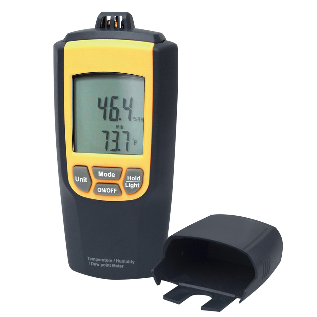 THTK-178 Temperature Humidity Meter Thermometer °C / °F Tester w/ Dew Point