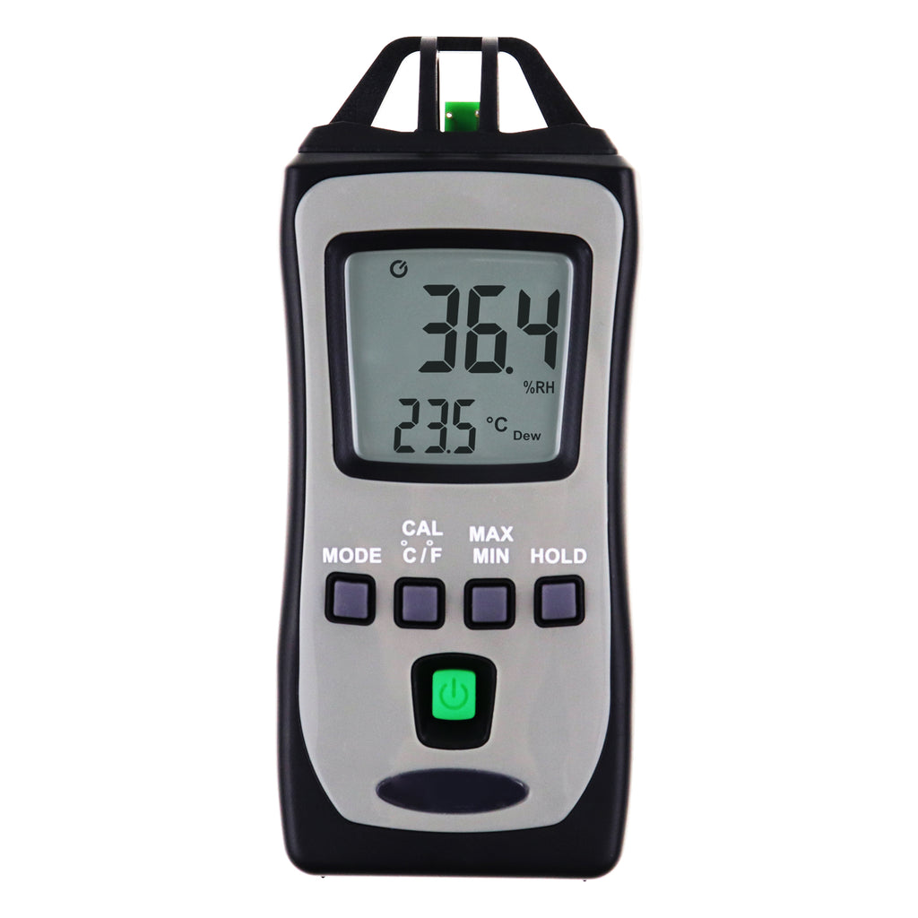 TK304PLUS Mini Pocket Digital Thermometer Hygrometer Temperature and Humidity %RH Tester with Wet Bulb Dew Point Measure