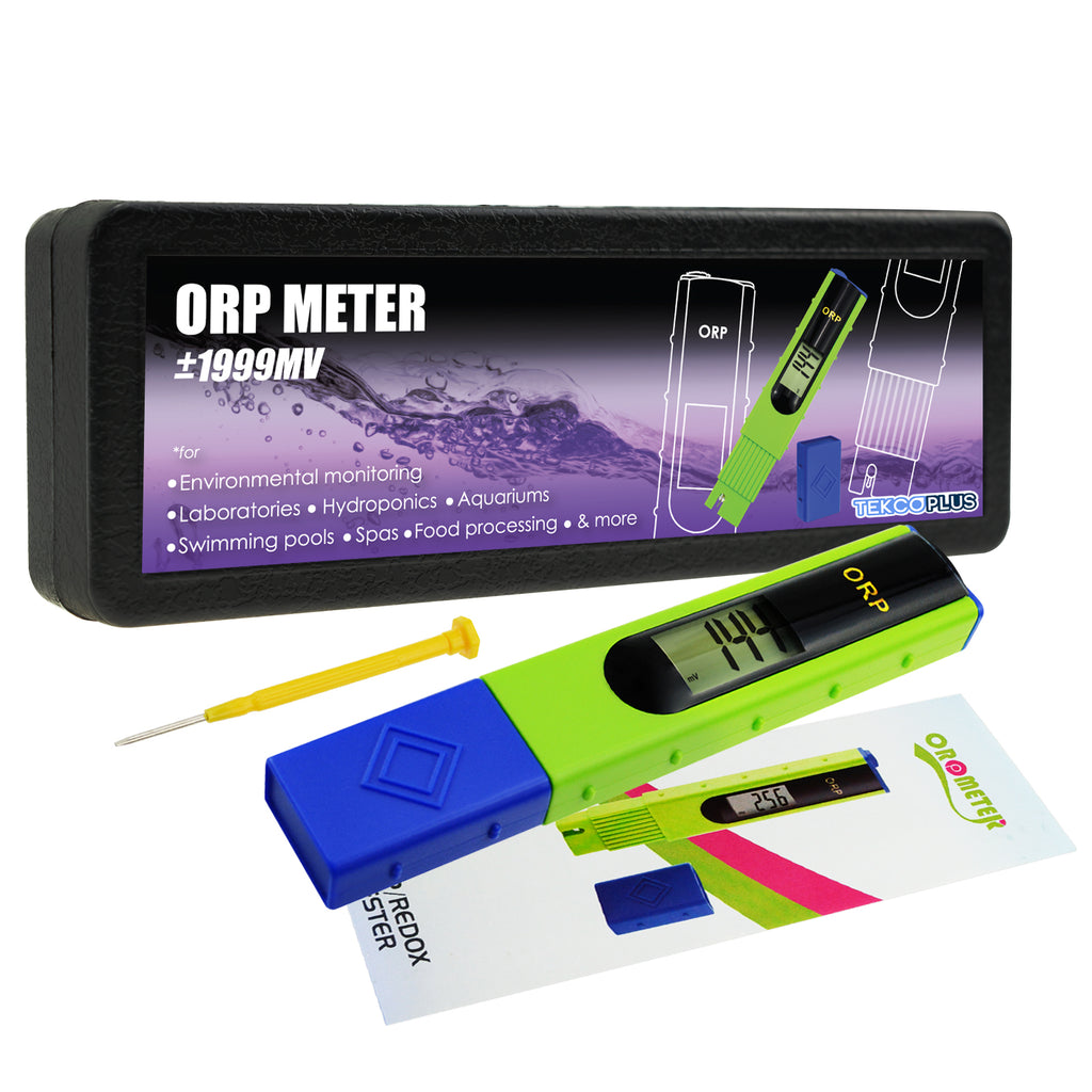 ORTK-228 ORP Redox Meter -1999~1999mV, Oxidation Reduction Tester Pool, Water Treatment System-Tekcoplus Ltd.