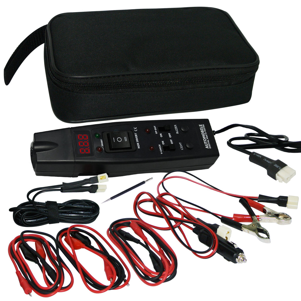 AUTK-1006 Automotive Multi-Tester Car Battery Voltage Tester Relays Checker Technicians Mechanics-Tekcoplus Ltd.