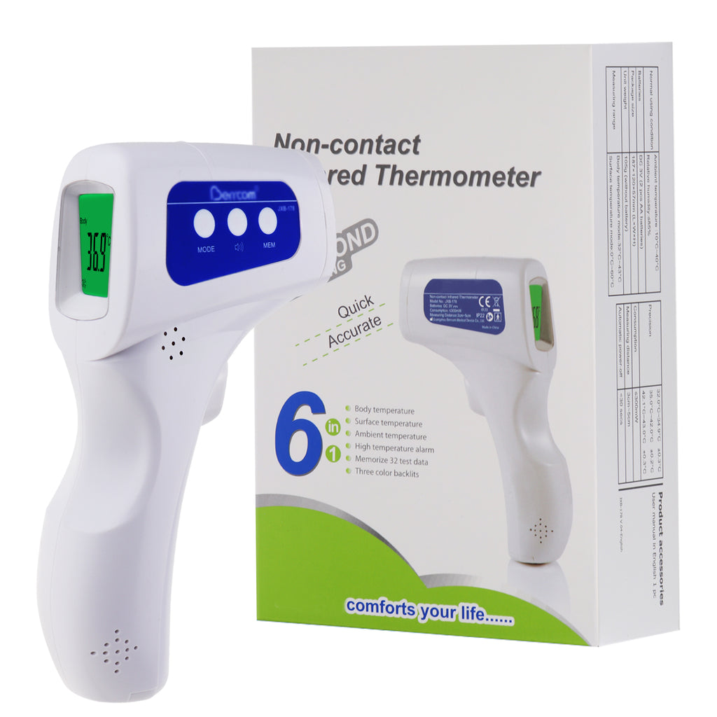 TK293PLUS Professional 3-in-1 Non-contact Forehead Thermometer Baby Adult Human FDA Approved Temperature Meter