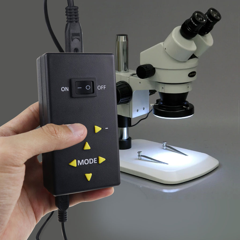 RLTK-47 LED Ring Light Microscope Camera Illuminator 144 LED Photo Video Make-up 4 Zone Control 61mm-Tekcoplus Ltd.