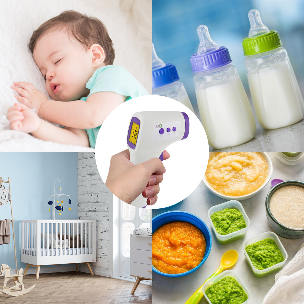 TK292PLUS Human Body Surface Infrared Thermometer Non-contact Temperature Measurement for Baby Infant Adult