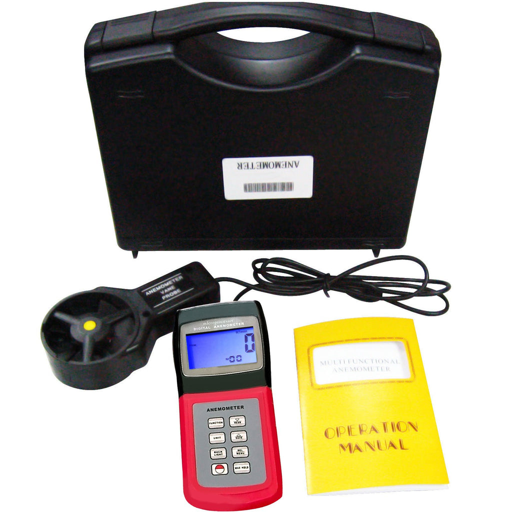 ANTK-702V 3-range Thermo Anemometer, Air Speed, Wind Flow, Temperature, Velocity Beaufort Scale-Tekcoplus Ltd.