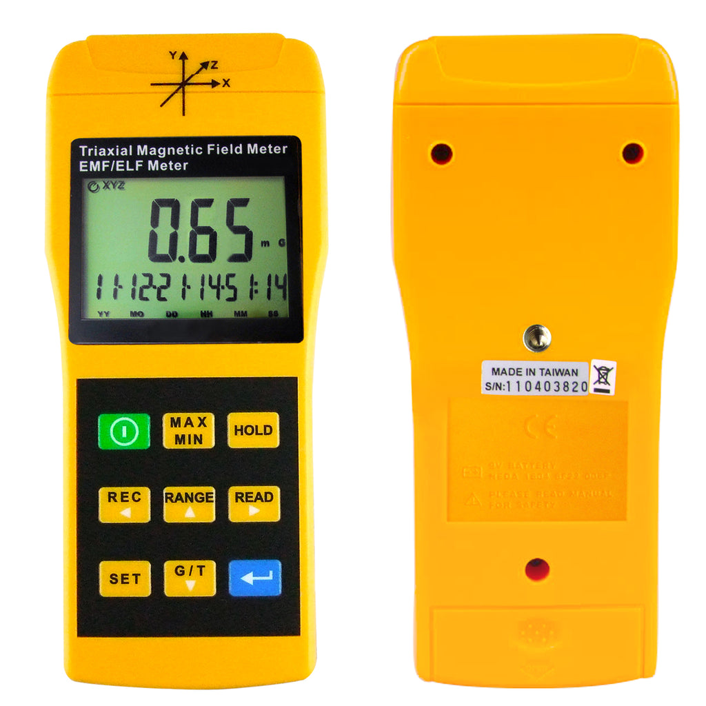Professional 3 Axis Elf Magnetic Field Meter — ZwiftItaly