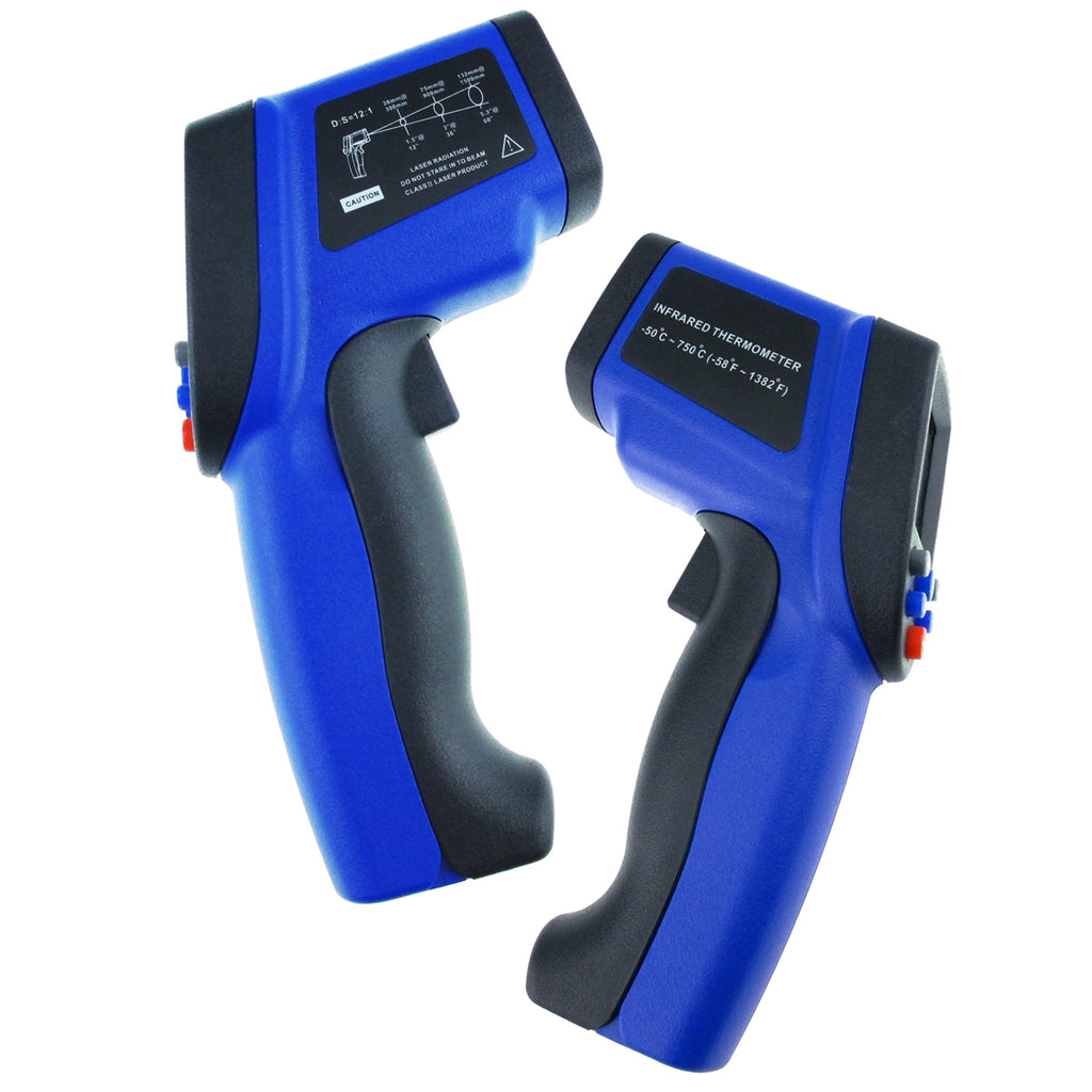 THTK-175 Infrared IR Laser Thermometer 12:1 DS -50~750°C(-58~1382°F)