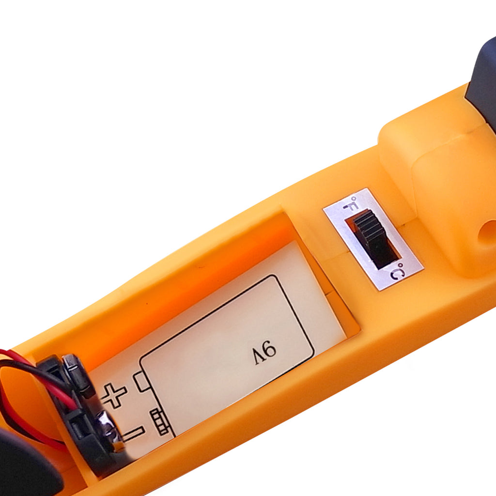 THTK-806 Digital IR Laser 50:1 DS Thermometer 1650°C 3002°F Emissivity 0.95 Temperature Tester