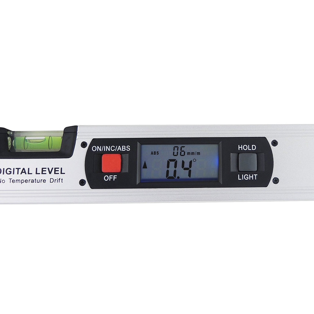 AFTK-17 Digital Angle Finder Level 360° Spirit Level Built-in Magnets Inclinometer 4 x 90° Range-Tekcoplus Ltd.