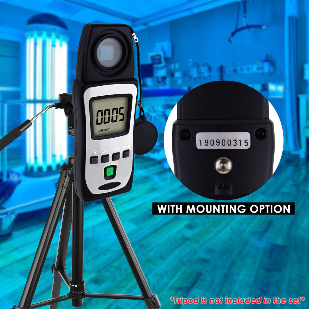 TM-213 Portable UVAB Radiation Light Meter Detector Kit  uW/cm2, mW/cm2 Ultra Violet Checker