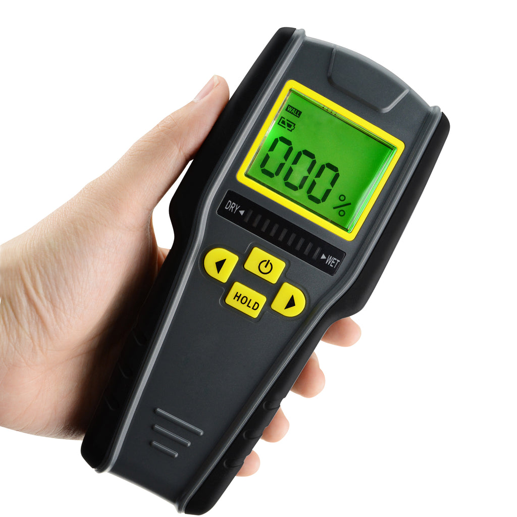SFTK-98 Digital 4-in-1 Inductive Wood Tree Timber Moisture Meter Non-Invasive Tester-Tekcoplus Ltd.